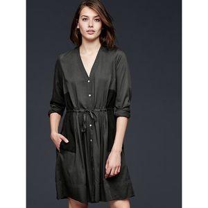 {GAP} Contrast Panel Dress